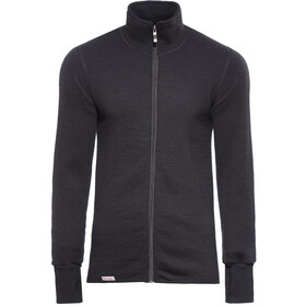 Woolpower 600 Veste polaire zippée, black